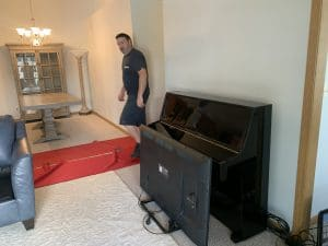 moving senior citizens, piano moving kenosha, otto nelson moving