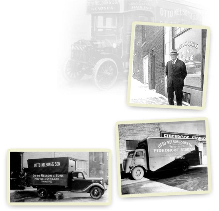 otto nelson, movers in kenosha, kenosha moving company