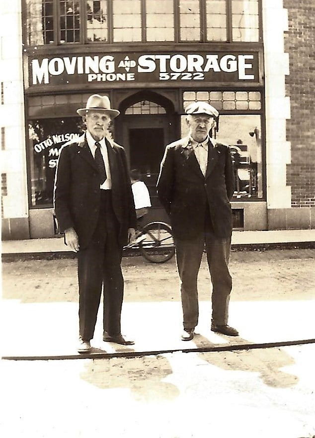 the original two men and a truck, kenosha moving company, racine moving company