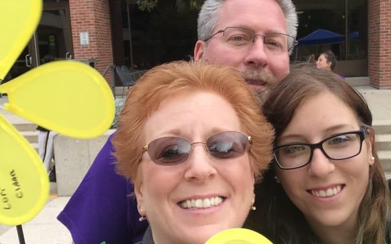 follensbee family, alzheimers walk, movers in kenosha